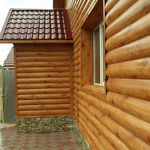 Блок-хаус 27х130х4000 (Лиственница) - Экстра