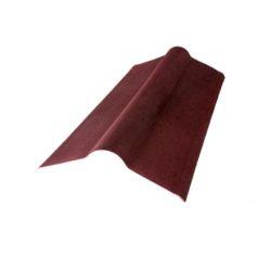 Коньковый элемент коричневый для ондулина