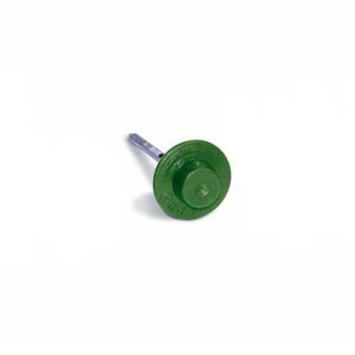 Ондулиновые гвозди (зеленые) с литой шляпкой